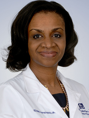 Angela Hackett Wortham, MD Headshot